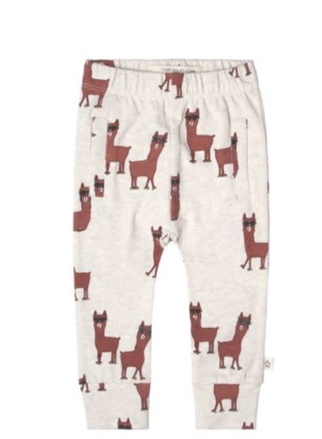 Laidback Lama   Fitted Pants Terra