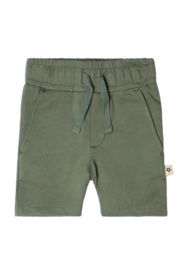 Solid | Long Short Old Green