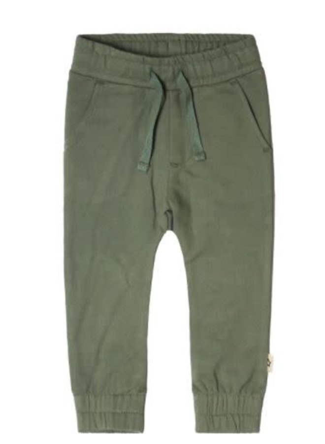 Solid | Sweat Pants Old Green