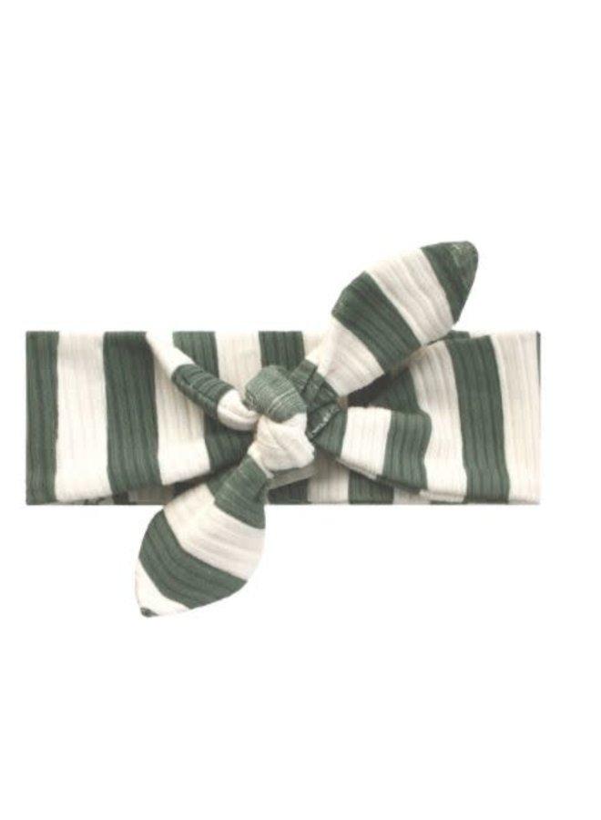 Bold Stripes | Headband Old Green