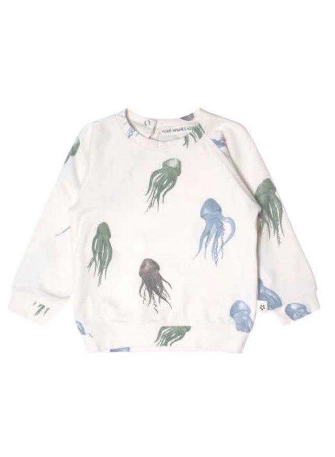Jellyfish   Sweatshirt Multicolor