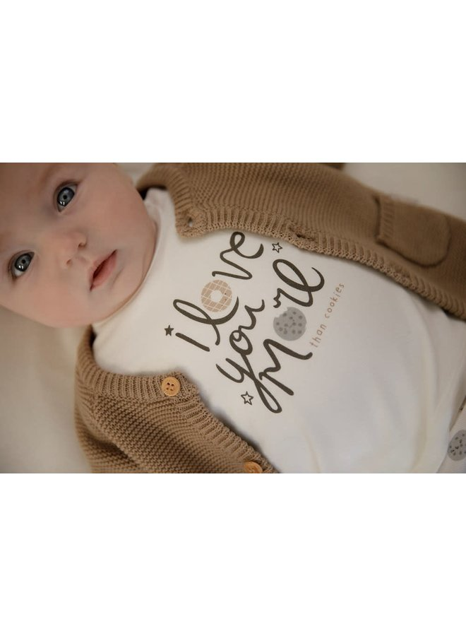 Longsleeve Love You - Mini Cookie Offwhite