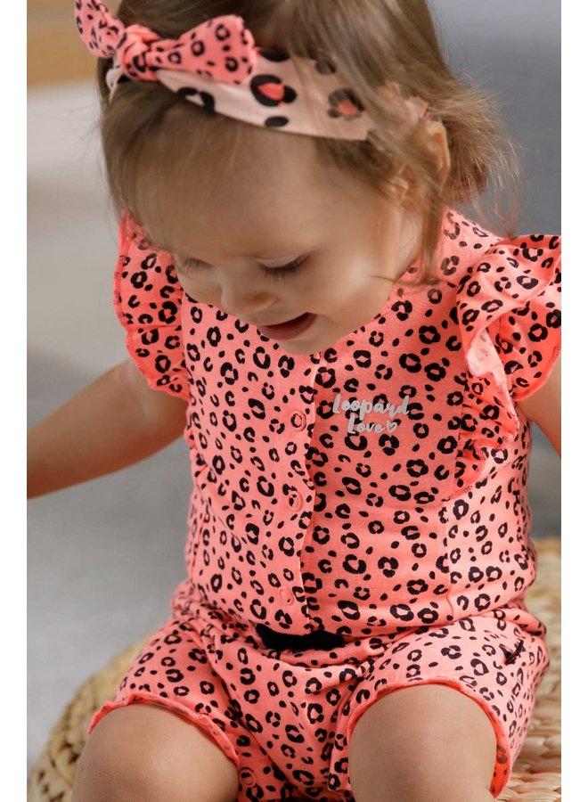 Haarband - Leopard Love Roze