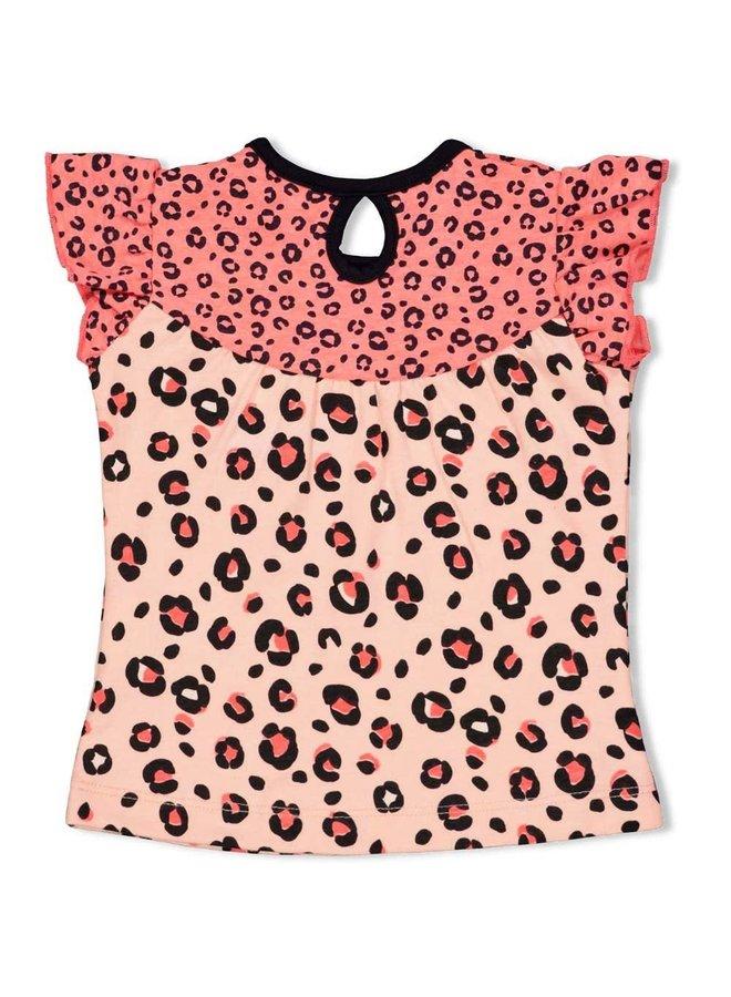 Singlet - Leopard Love Roze