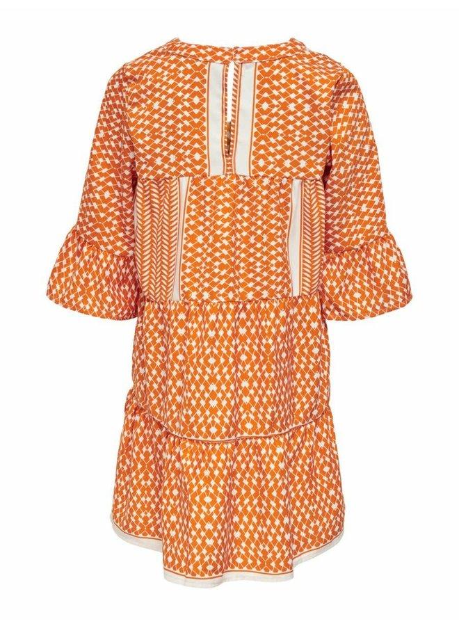 KONALBERTE 3/4 DRESS WVN Marmalade KIDS PARTISAN