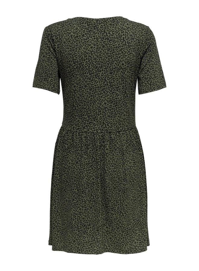 JDYKIRKBY S/S SHORT DRESS JRS Kalamata  MINI LEO