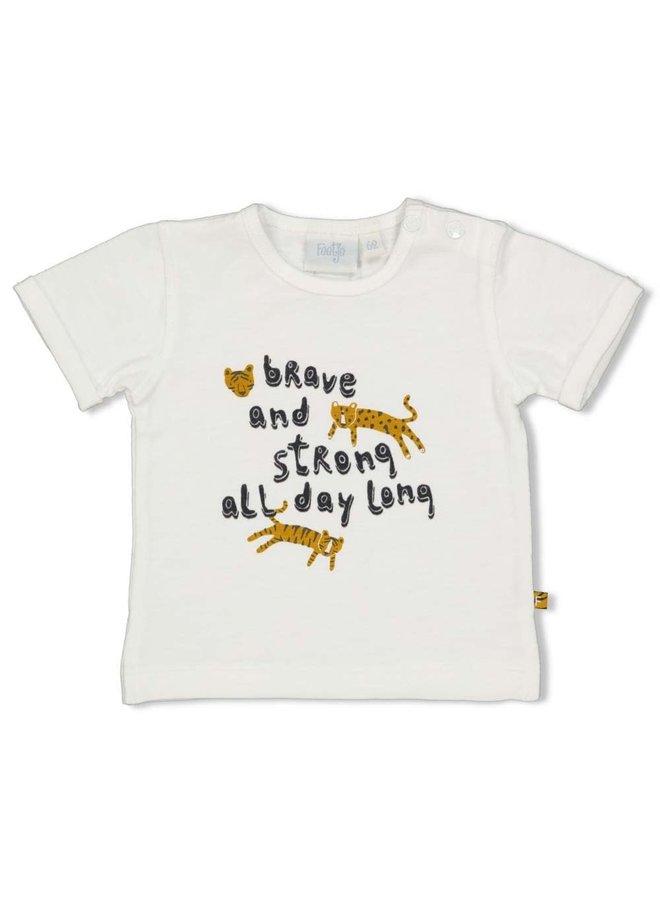 T-shirt - Go Wild Offwhite