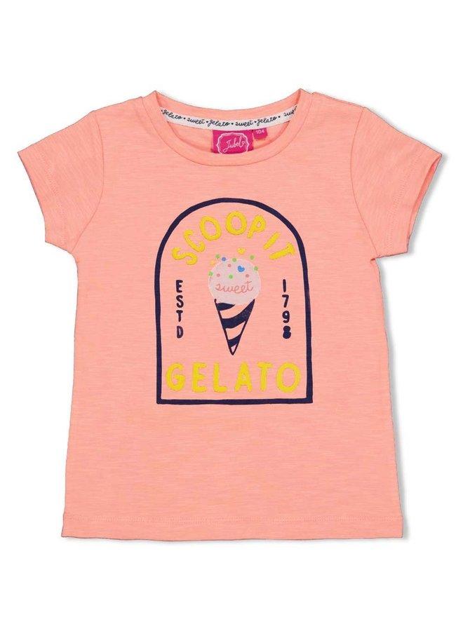 T-shirt Gelato - Sweet Gelato Koraal