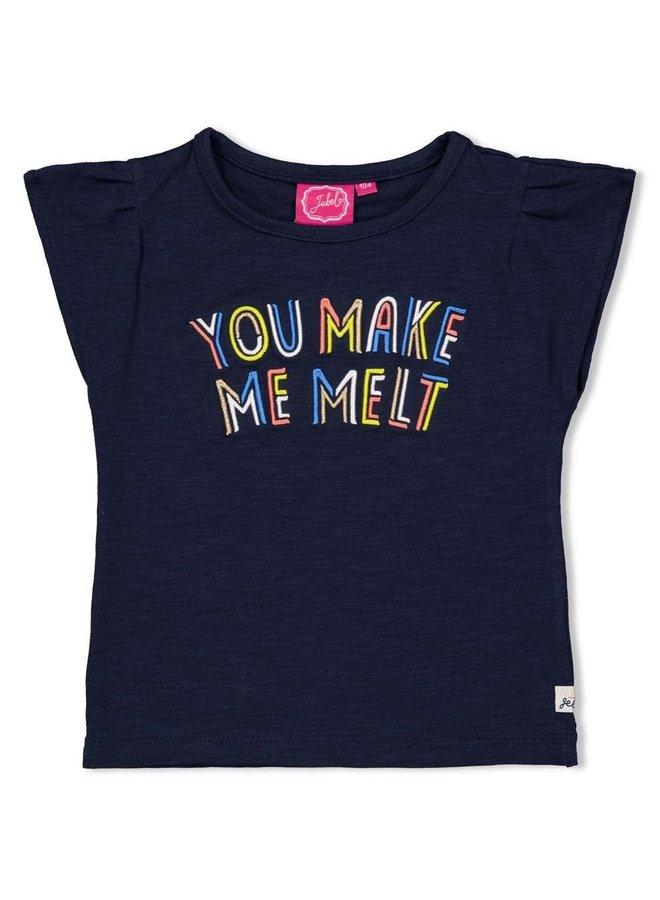T-shirt Melt - Sweet Gelato Marine