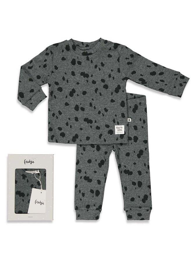 Spotted Sam - Premium Sleepwear by FEETJE Grijs melange