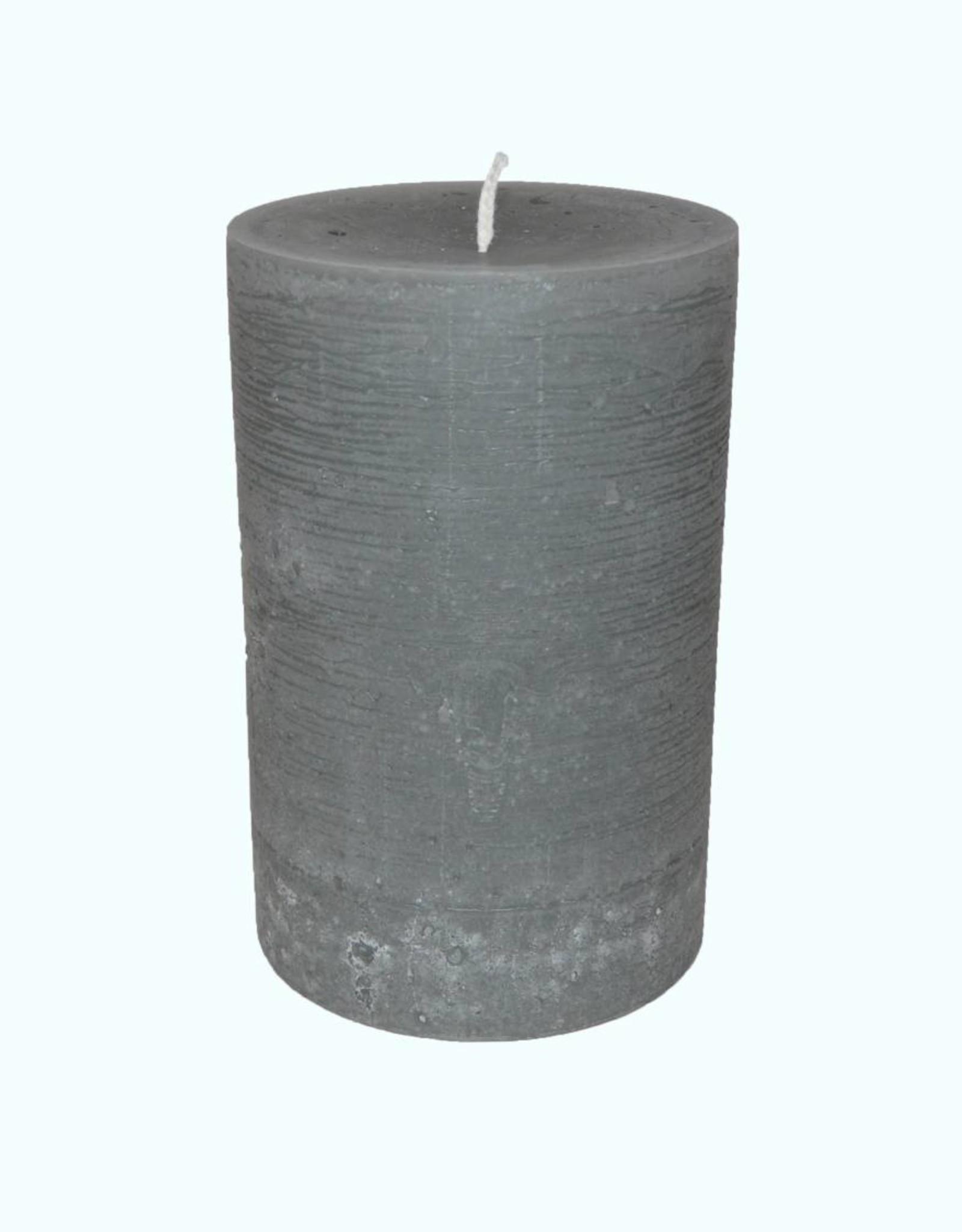 Kaars Maximus Rustique Grijs  Ø 10x16 cm