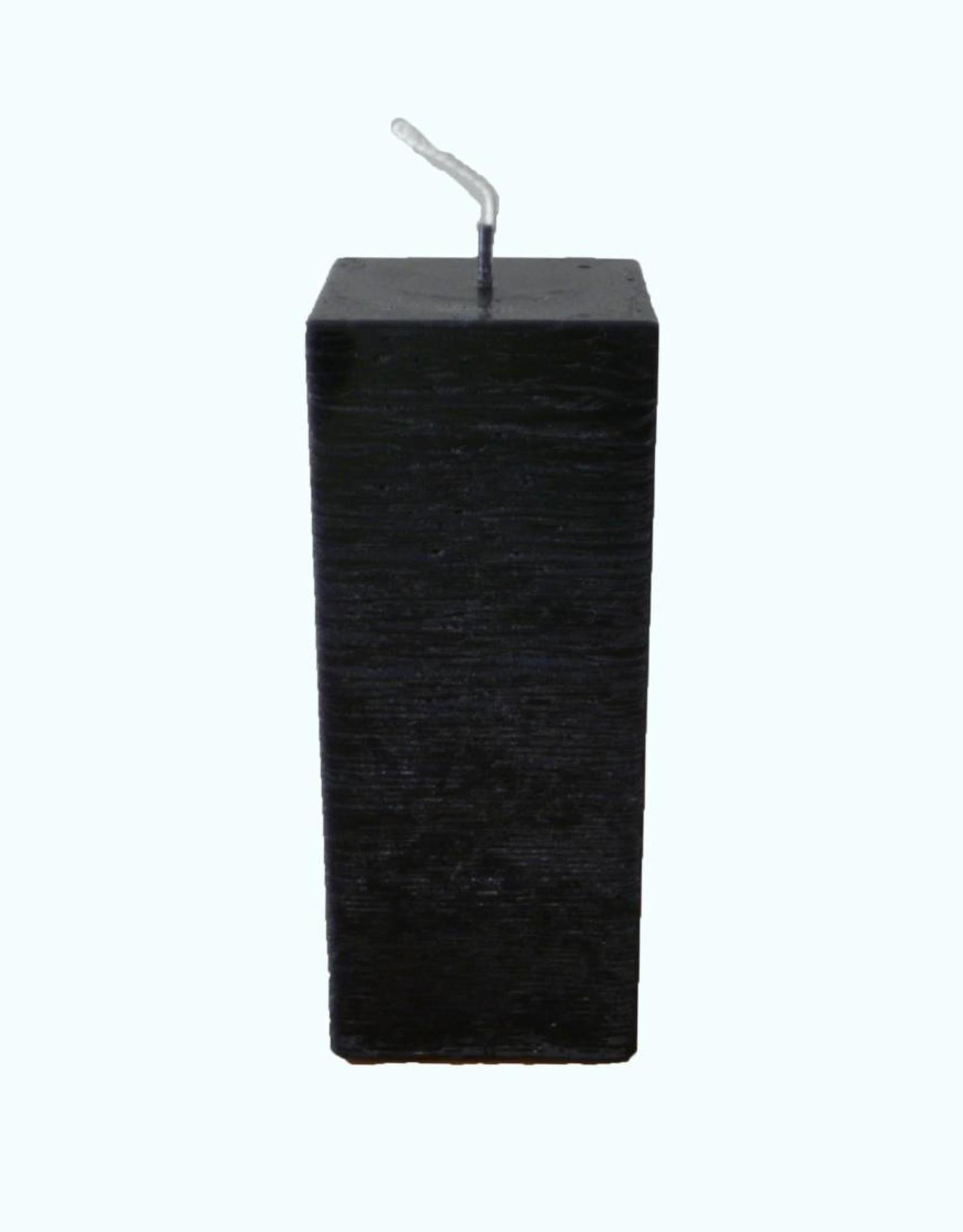 Zwarte vierkante kaars van hoge kwaliteit