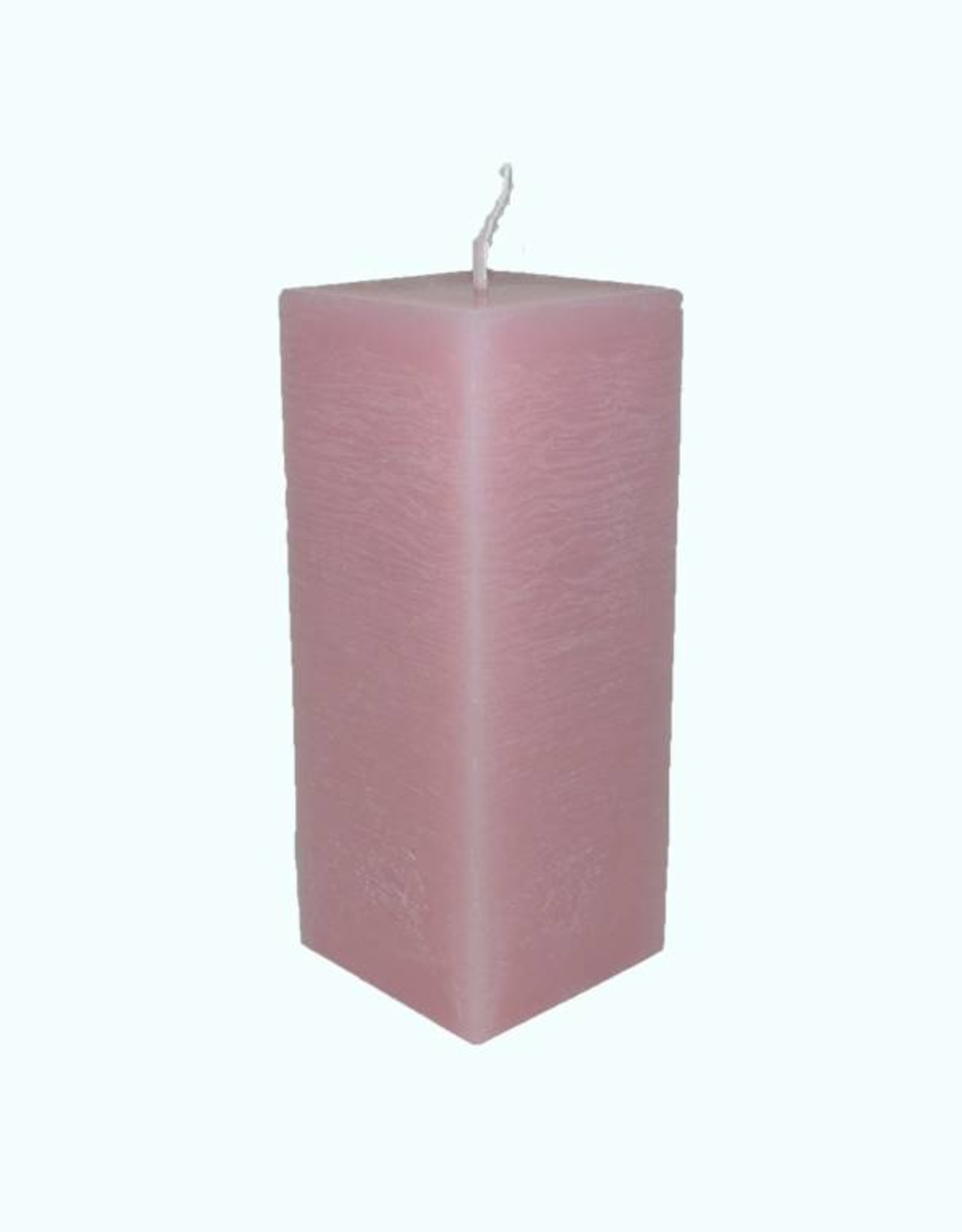 Licht Roze vierkante kaars van uitstekende kwaliteit