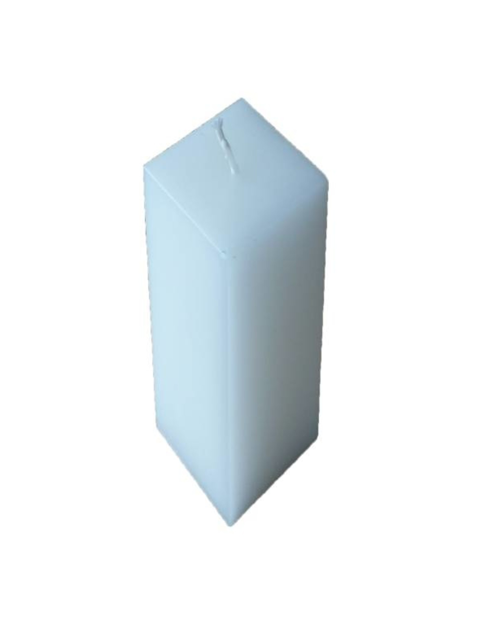 Witte rustique vierkante kaars van hoge kwaliteit