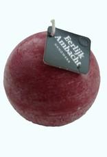 Bolkaars Rustiek Bordeaux Rood met een afmeting van Ø 10 cm
