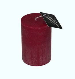 Stompkaars Rustiek Bordeaux Rood Ø 68x100 mm