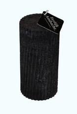 Twisted Stompkaars in de kleur Zwart Ø 80x160 mm