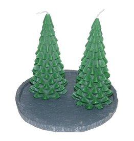 Kerstboom Kaars Kerstgroen 200x100 mm