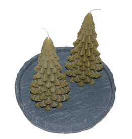 Kerstboom Kaars Ancient Green 200x100 mm