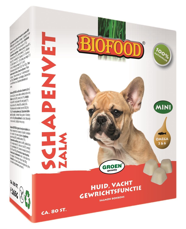 BioFood Biofood schapenvetbl. zalm 80st
