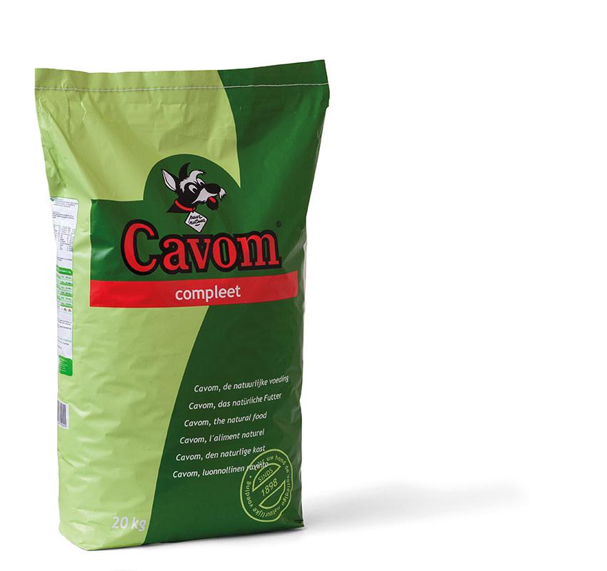 Cavom CAVOM - COMPLEET 20 KG VLEES ADULT