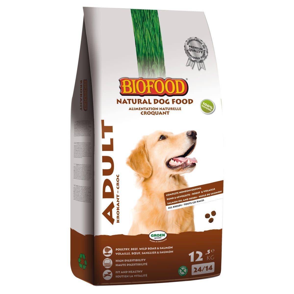 BioFood BIOFOOD - KROKANT 12,5 KG ADULT