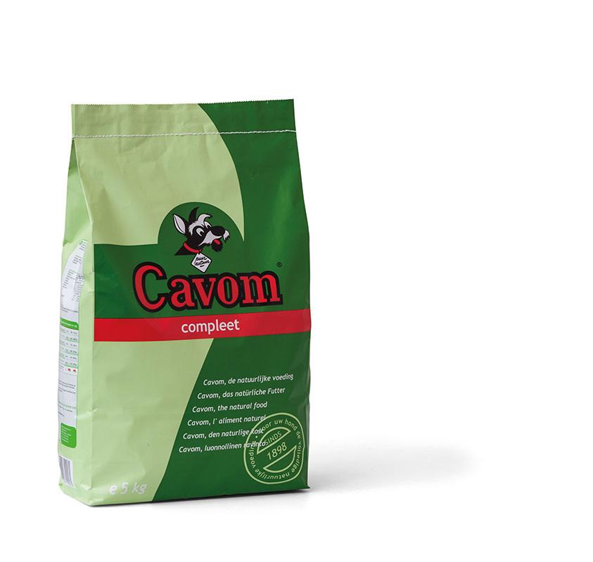 Cavom CAVOM - COMPLEET 5 KG VLEES ADULT