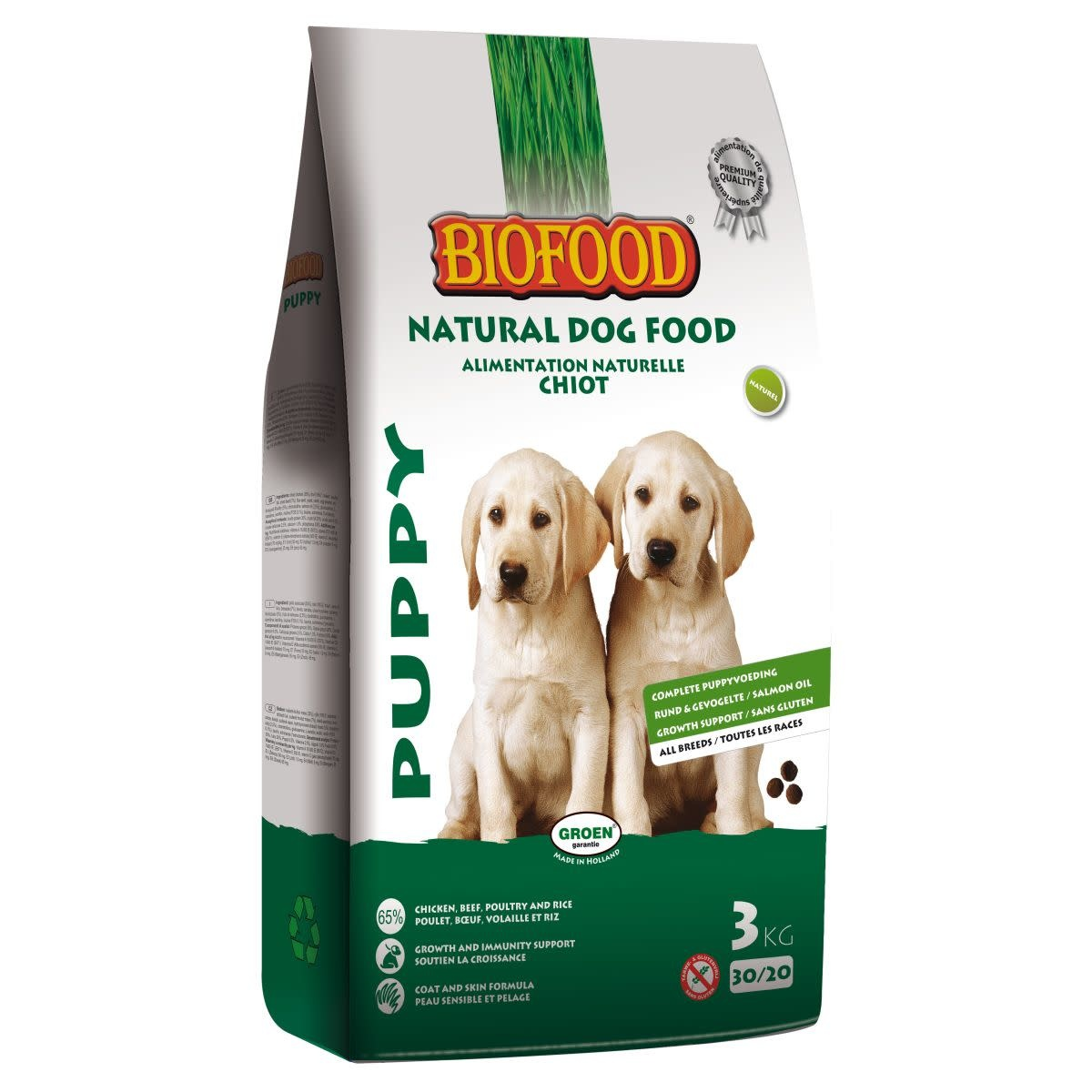BioFood Biofood puppy 3kg