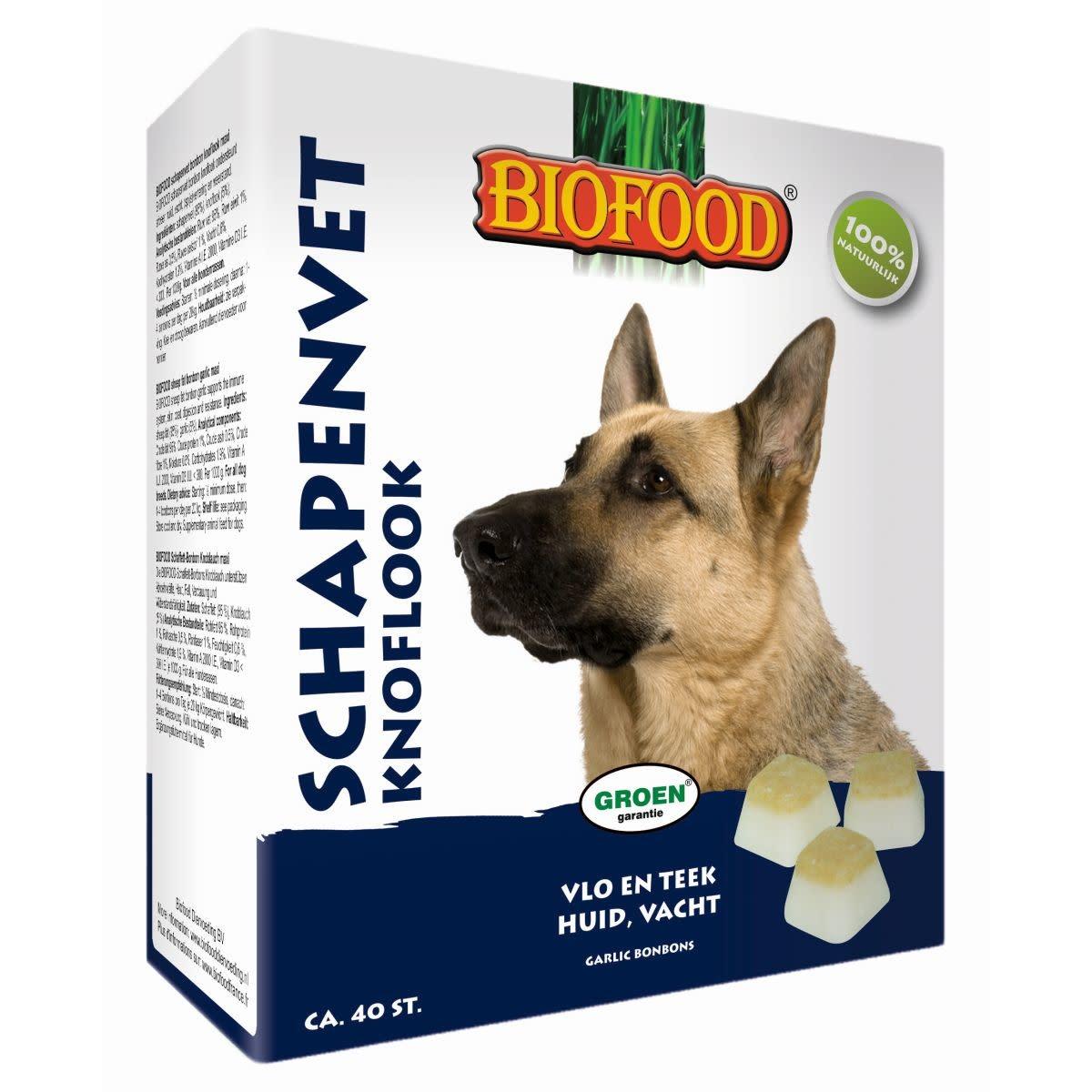 BioFood Biofood schapenvet knoflook groot 40st.