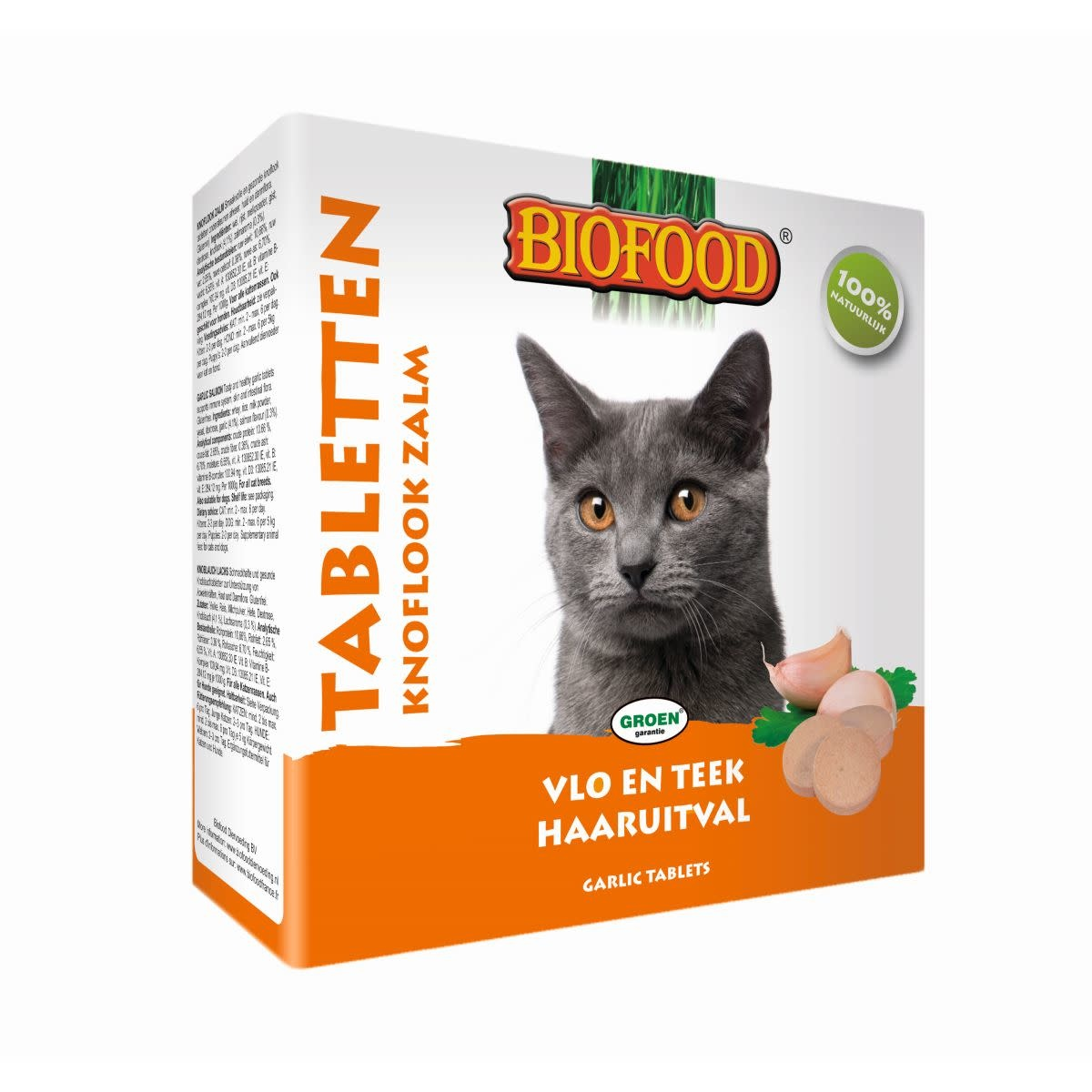BioFood Biofood knoflook/zalm tabletten