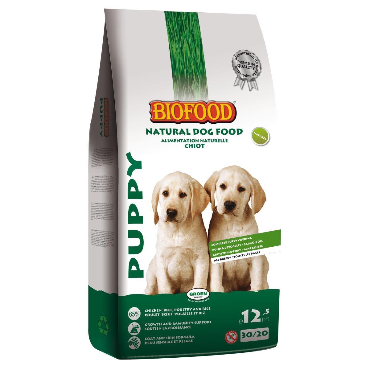 BioFood BIOFOOD - PUPPY 12,5 KG PUPPY