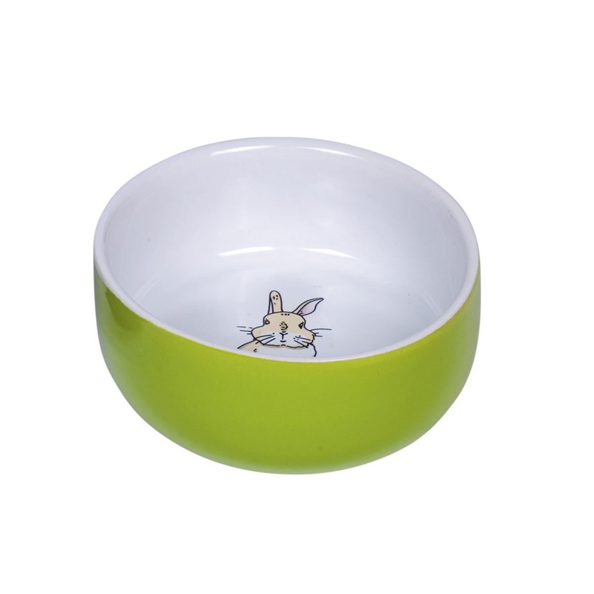 Eetbak knaag konijn groen