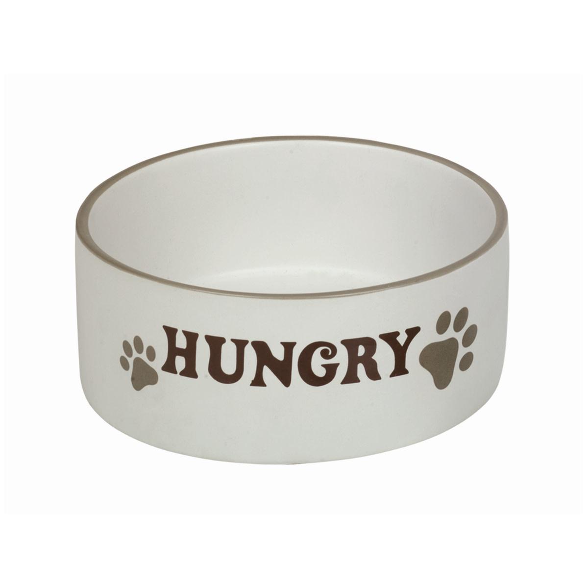 Eetbak Hungry creme 15 cm