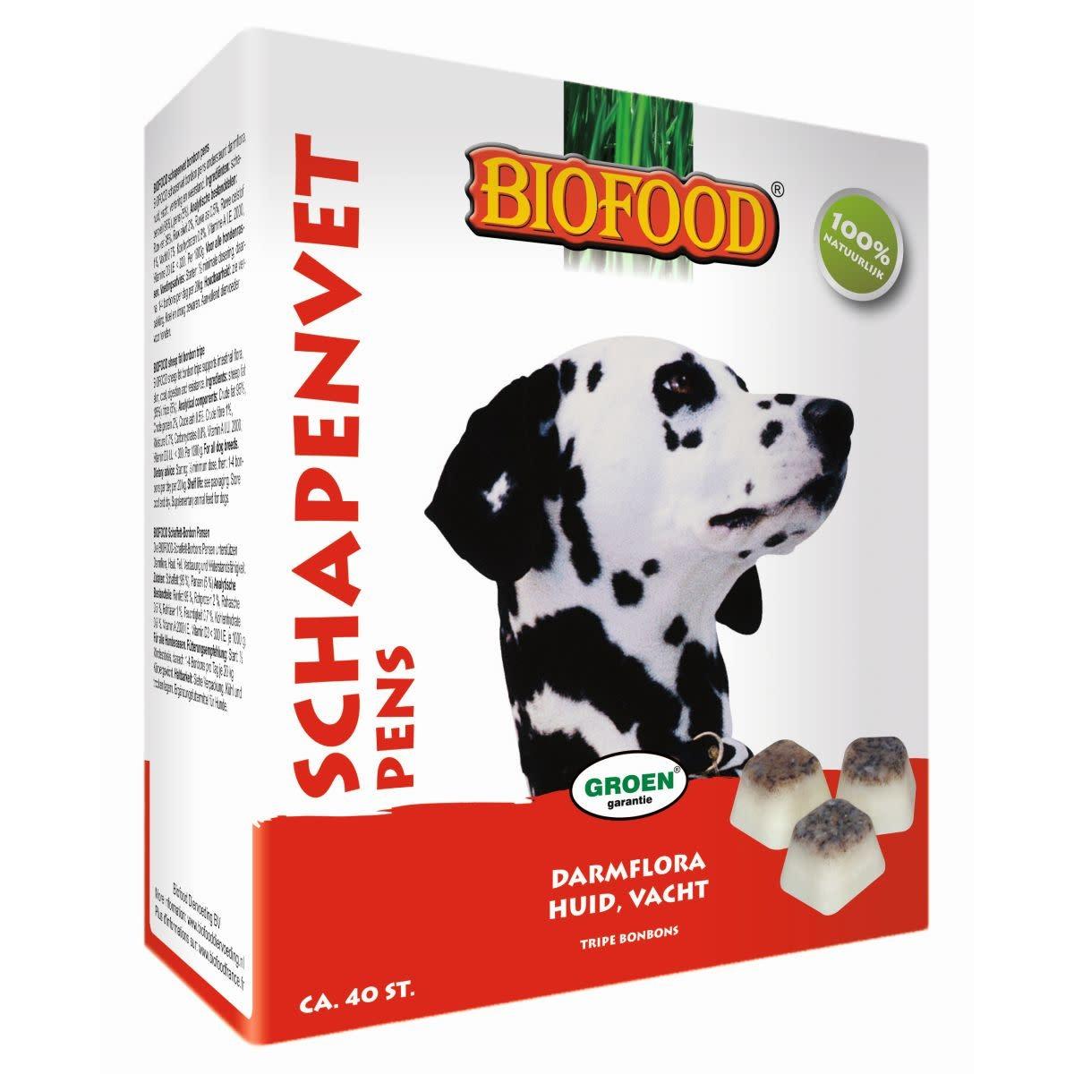 BioFood Biofood Schapenvetbolkjes pens 40 st