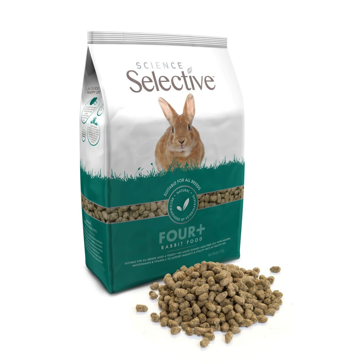 Supreme SUPREME - SELECTIVE RABBIT FOUR+ 3 KG SENIOR