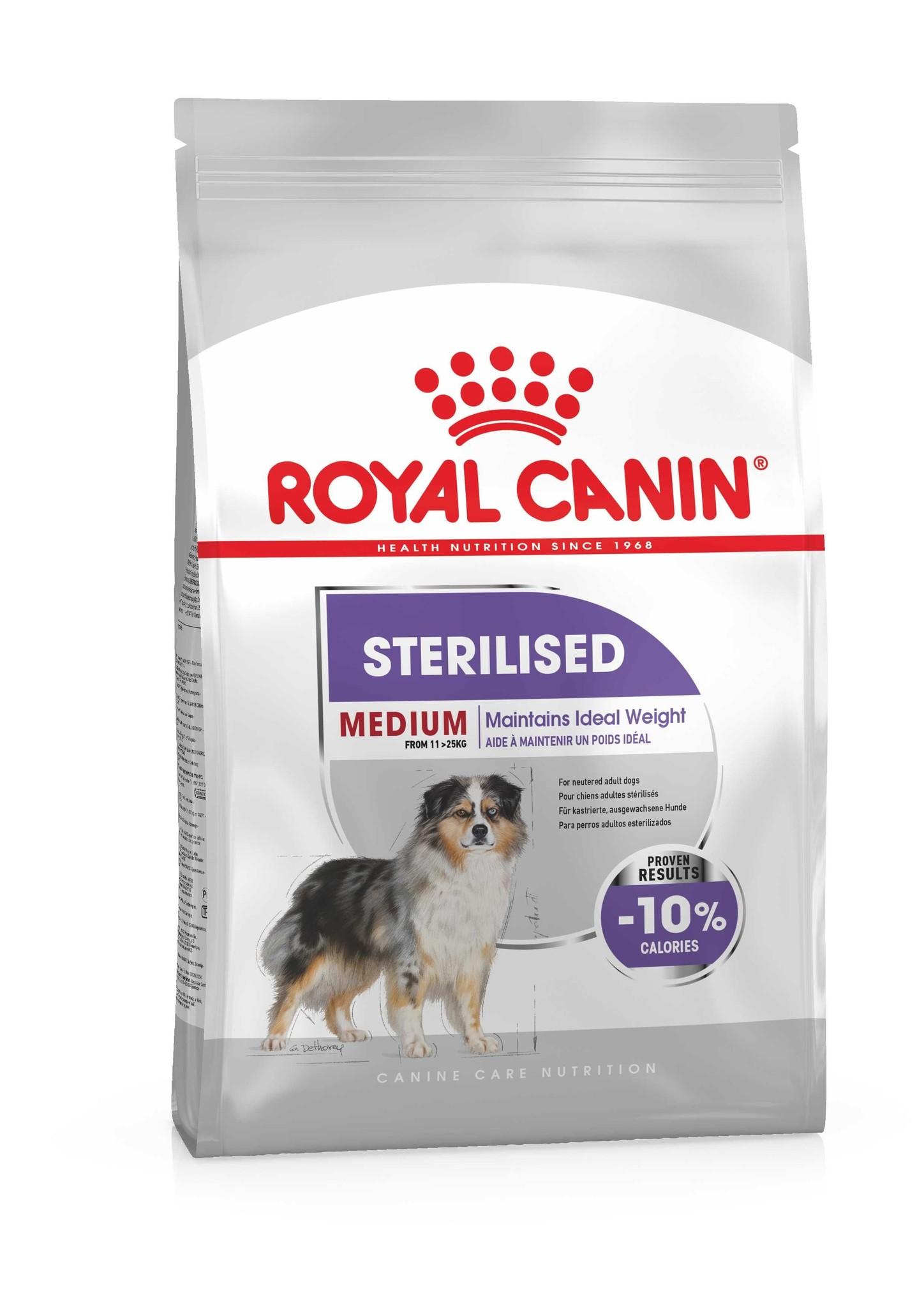 Royal Canin Royal canin sterilised medium 3kg