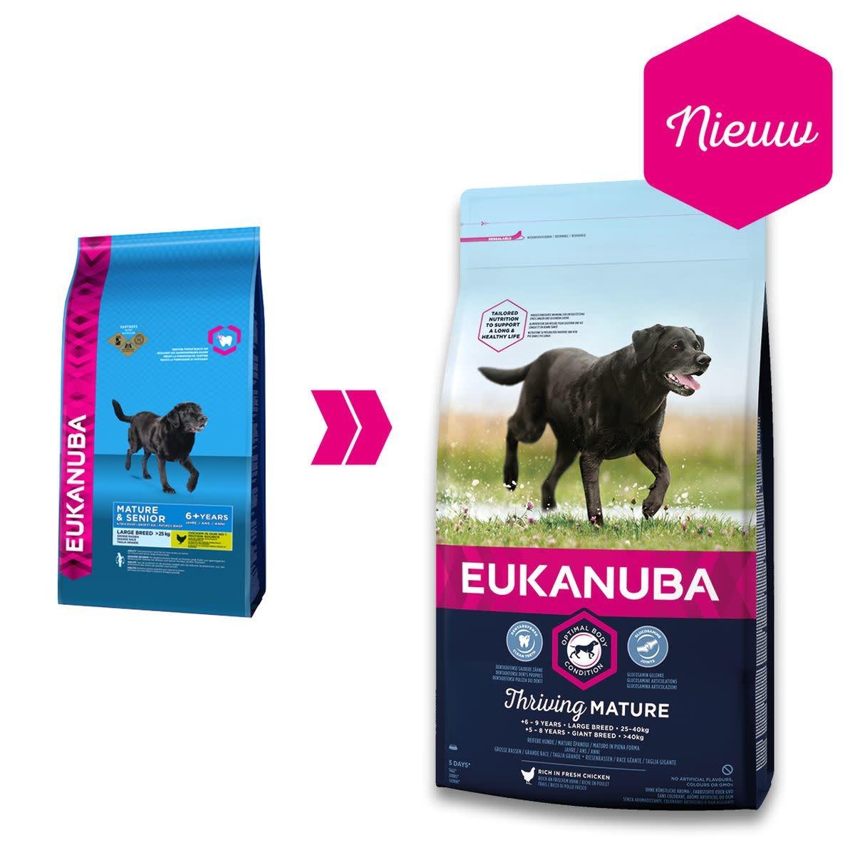 Eukanuba EUKANUBA - MATURE/SENIOR LARGE BREED 12 KG KIP