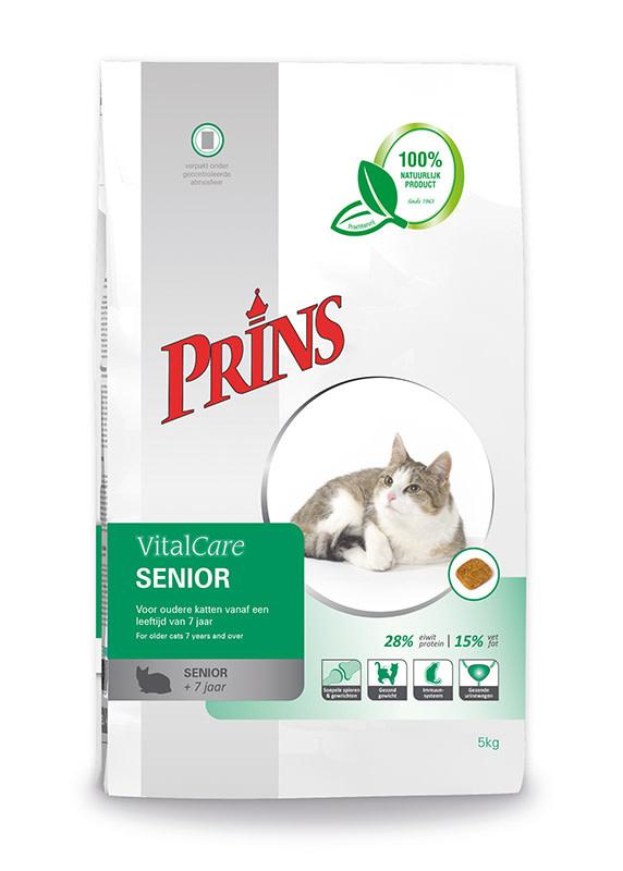 Prins PRINS - VITALCARE SENIOR 5 KG GEVOGELTE