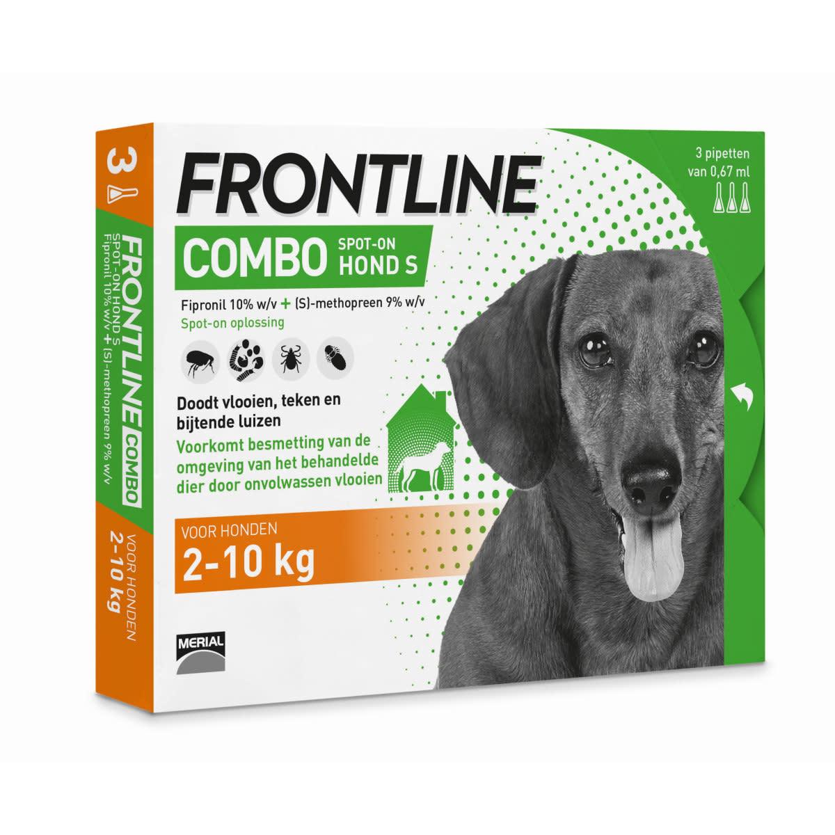 Frontline FRONTLINE - COMBO 3 PIPETTEN S