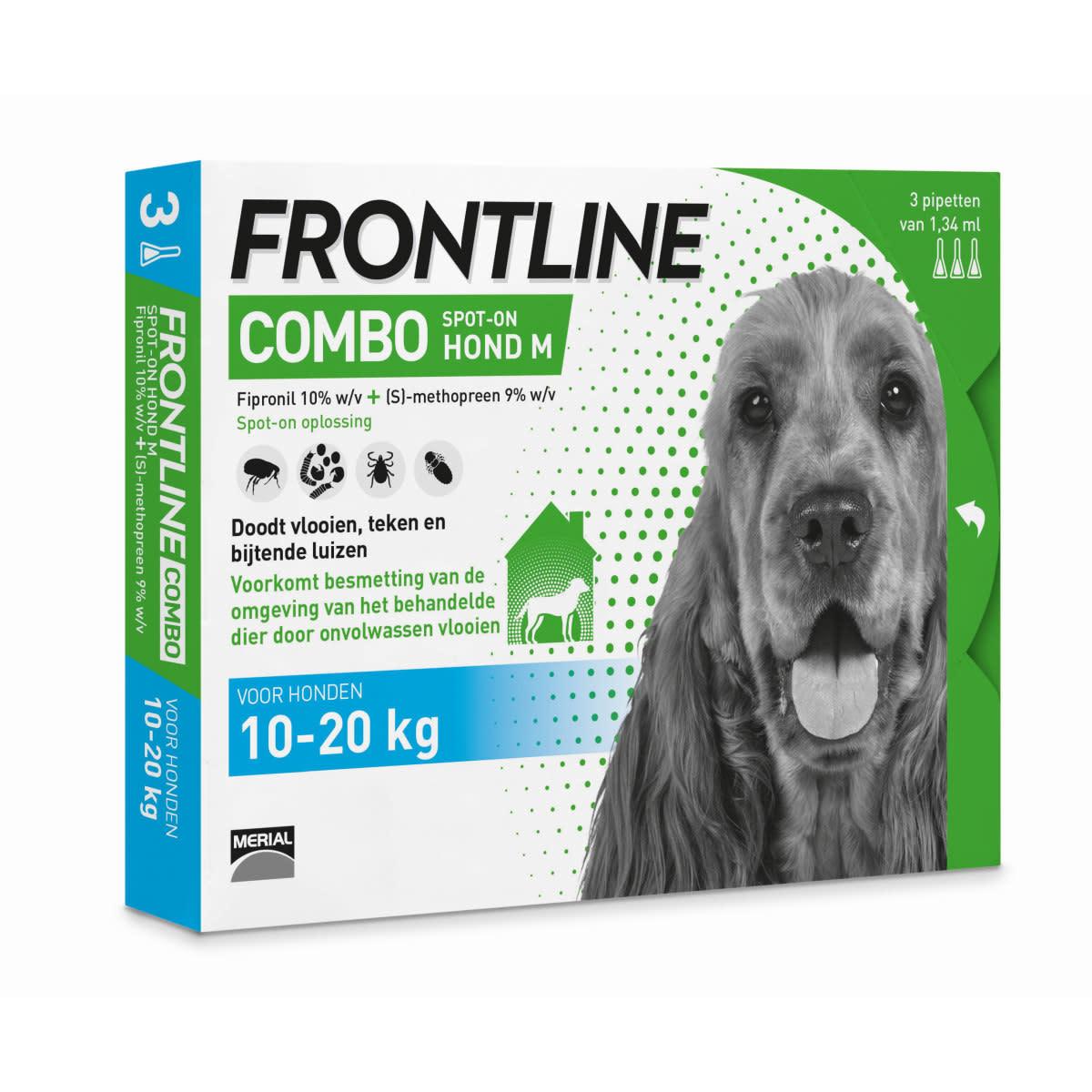 Frontline FRONTLINE - COMBO 3 PIPETTEN M