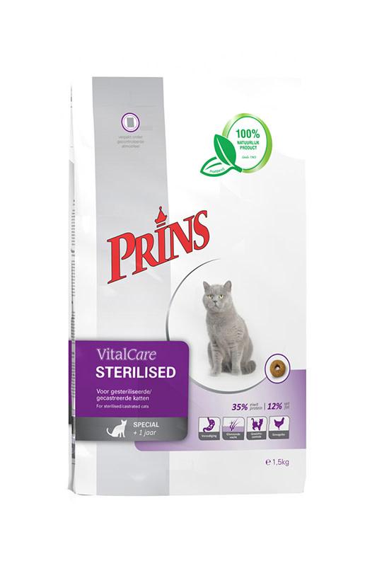 Prins PRINS - VITALCARE STERILISED 5 KG ADULT