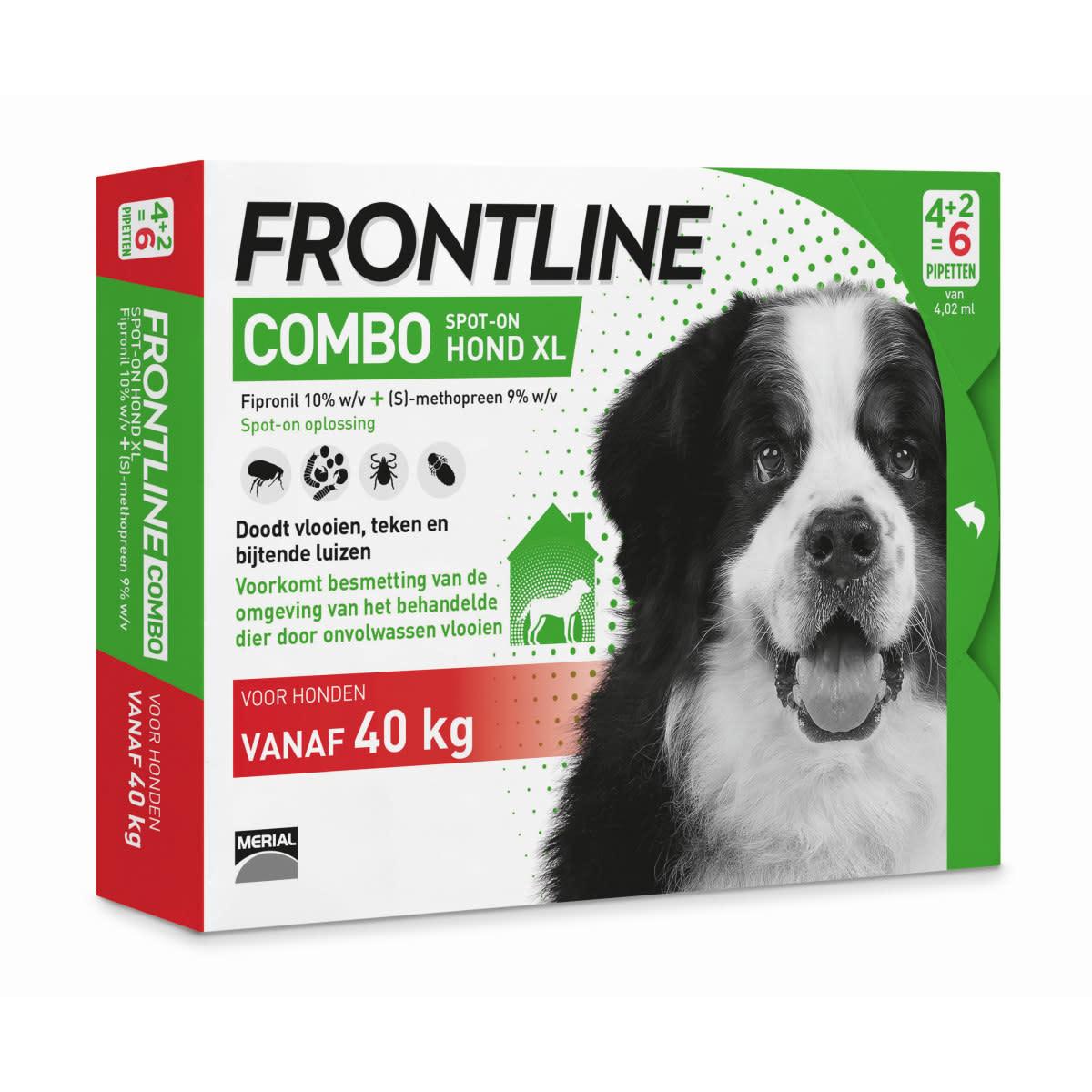 Frontline FRONTLINE - COMBO HOND 6 PIPETTEN ADULT