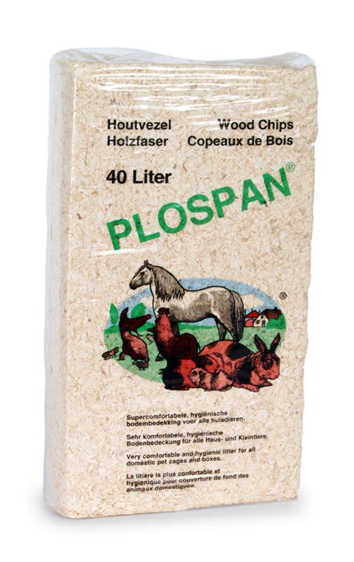 Plospan PLOSPAN - HOUTVEZEL 40 LTR