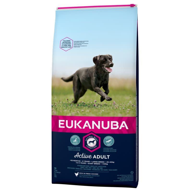Eukanuba EUKANUBA - ADULT LARGE BREED 12 KG KIP
