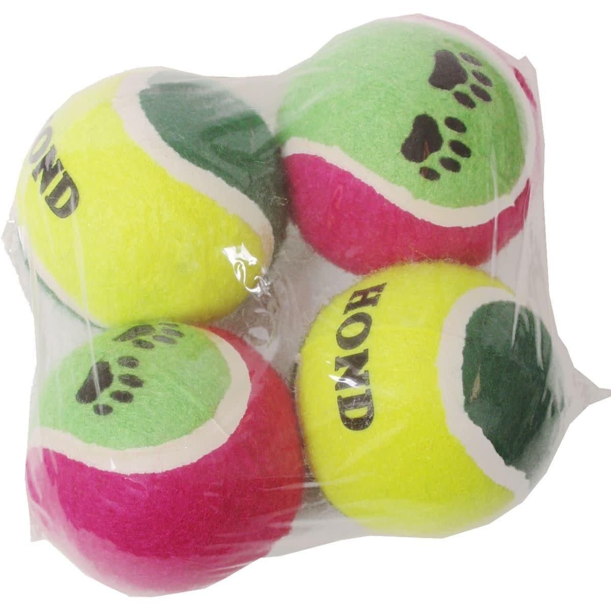NOBBY Tennisbal gekleurd per stuk