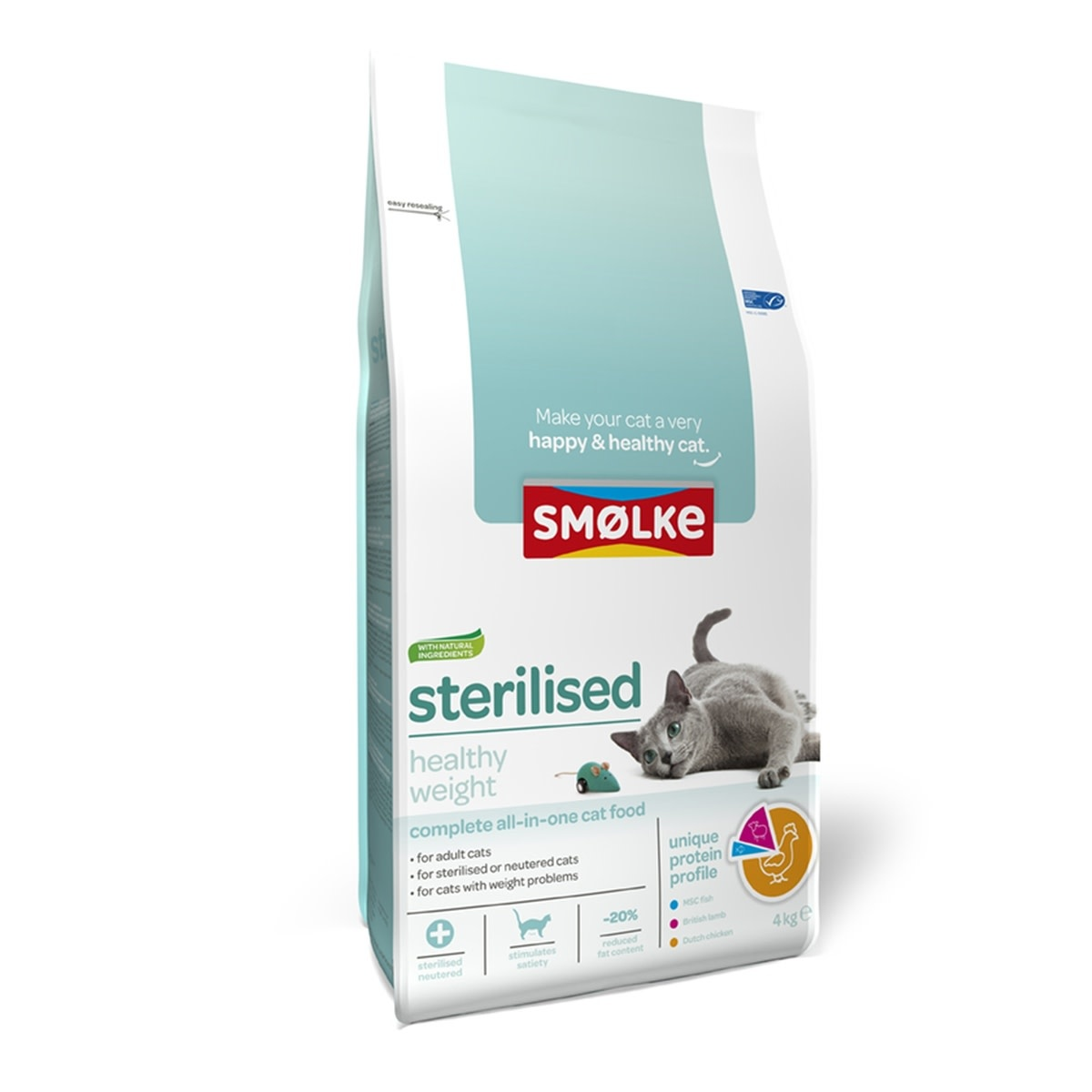 Smølke SMOLKE- Kat Sterilised 4Kg