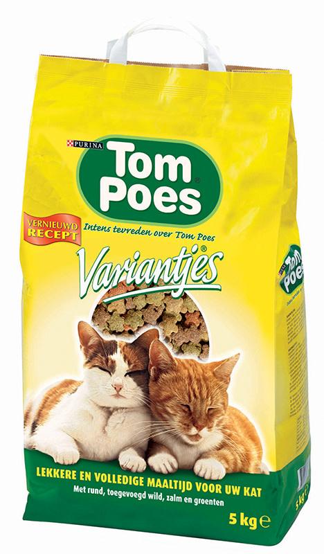 TOM POES TOM POES - VARIANTJES 5 KG KIP & GROENTE ADULT
