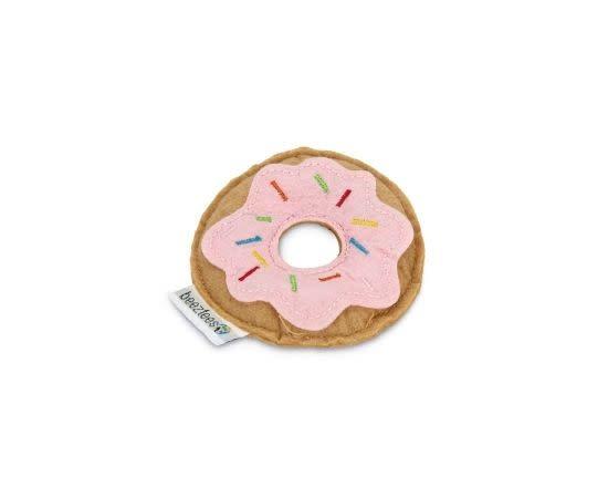 BeezTees Beeztees Donut - Kattenspeelgoed - Roze - 7,5x7,5x1,5 cm