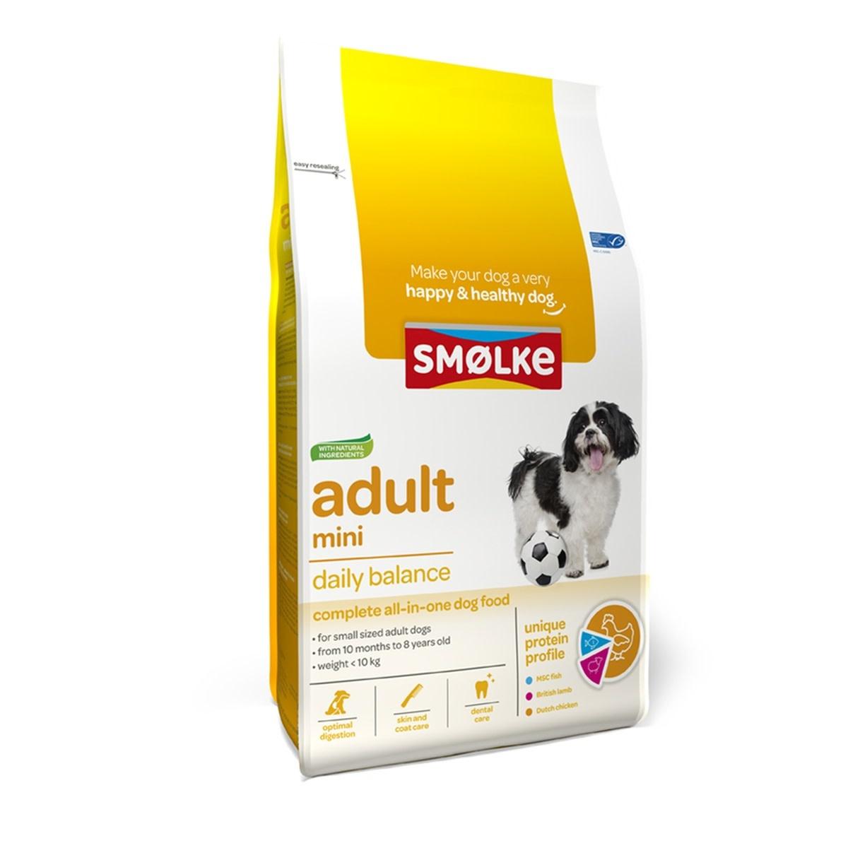 Smølke SMOLKE- Droogvoer mini Adult