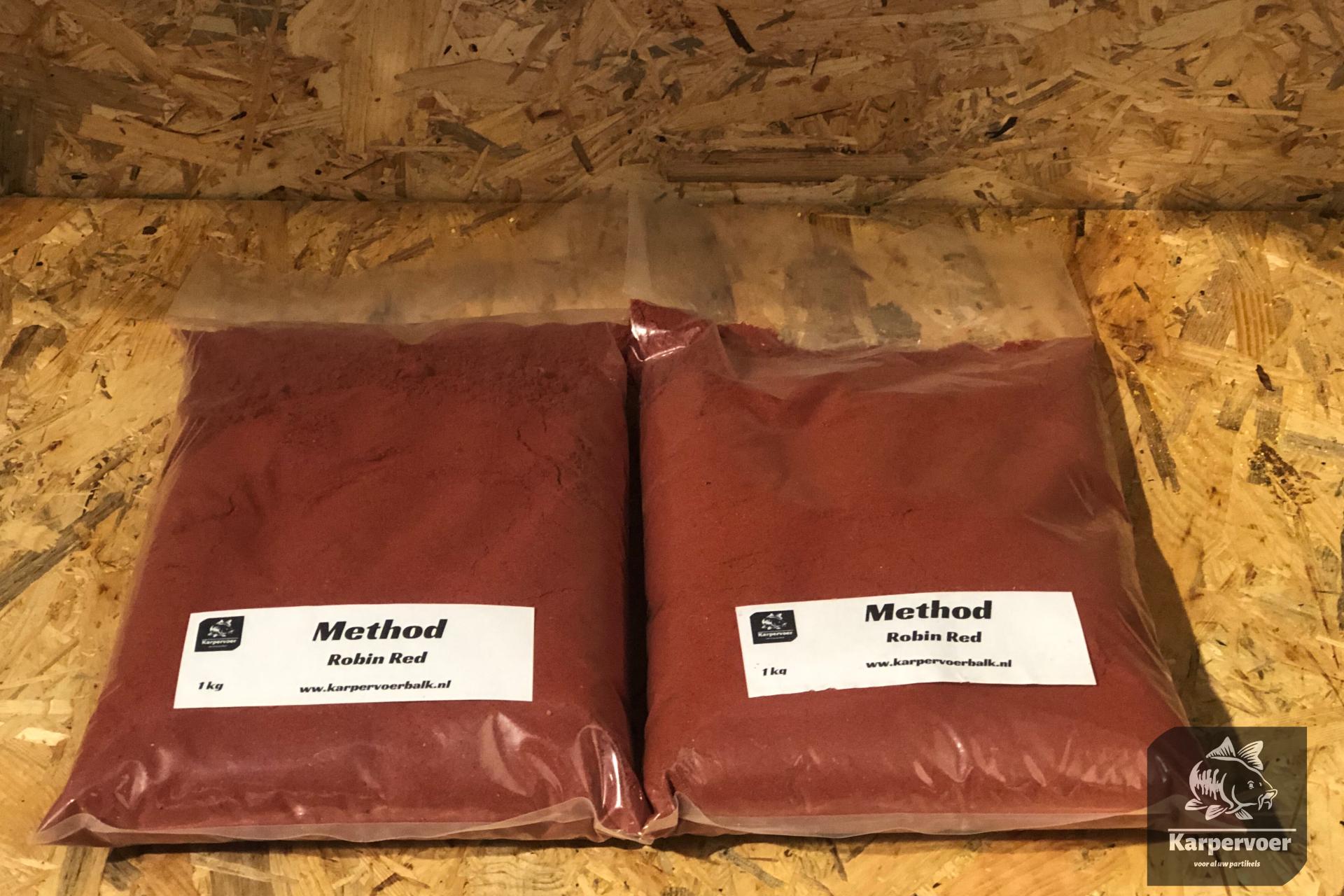 Karpervoer Balk Method robin red 1kg